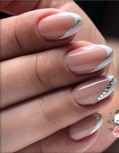 Acrylic Nails Coffin Pink, Nude Nails, Coffin Nails, Bright Nail Art, Nagellack Design, Classy Nail Designs, School Nails, Classy Nails, Accent Nails