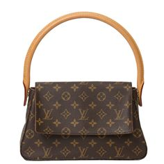 Louis Vuitton Mini Looping Monogram Canvas | From a collection of rare vintage shoulder bags at https://www.1stdibs.com/fashion/handbags-purses-bags/shoulder-bags/