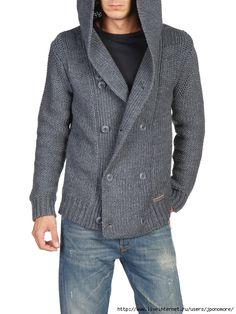 Вдохновительное от кутюр - вязаные жакеты, куртки для мужчин. Обсуждение на LiveInternet - Российский Сервис Онлайн-Дневников