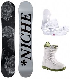 Niche Minx Women's Snowboard Package with Board, Bindings & Boots