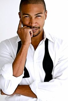 Charles Michael Davis- another sexiest man alive candidate for sure!