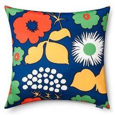 Marimekko for Target Indoor/Outdoor Square Pillo... : Target