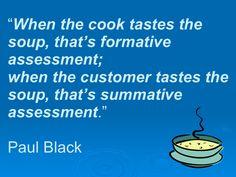 Formative Assessment vs. Summative Assessment