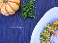 * Angel of Berlin: [cooks...] Pumpkin Risotto with Rocket and Almonds