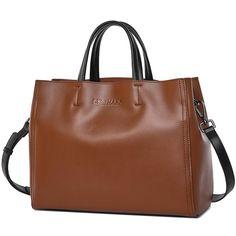 c95c793238 SHARK Women Messenger Bag Shoulder Crossbody Bag Ladies Genuine Leather  Bags Handbags