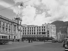 LA BOGOTÁ DE ANTAÑO: Demolición del Hotel Granada. Publicación de Joselh Hómez.