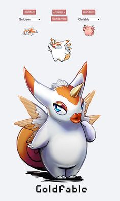 Goldeen and Clafable - it creeps me out