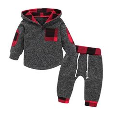 Big Discount Wisefin Newborn Baby Boy Clothes Set Winter Plaid Infant Clothing For Boy 2 Piece Hooded Newborn Outfits Set Boy Long Sleeve Newborn Boy Clothes, Newborn Outfits, Cute Baby Clothes, Baby Girl Newborn, Toddler Outfits, Kids Outfits, Baby Boys, Kids Boys, Fall Clothes