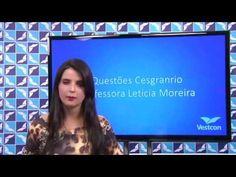 Aula demonstrativa de Resoluções de Questões para CESGRANRIO - Profª. Le...