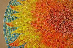 Mosaic art by Sonia King | http://www.designrulz.com/product-design/wall/2010/12/mosaic-art-sonia-king/