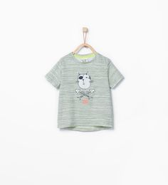 Animals and letters T-shirt-T-shirts-Baby boy (3 months - 3 years)-KIDS | ZARA United States