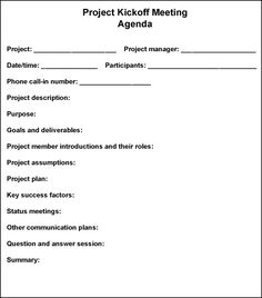 Follow These Steps To Conduct An Effective Project Kickoff Meeting    TechRepublic