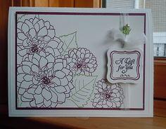 delightful dahlia-Papertrey Ink
