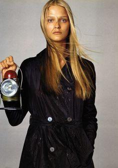 Vogue Italia February 1999 Forecast Models: Karen Elson, Carman Kass,... Ph: Steven Meisel Styling: Camilla Nickerson Hair: Jimmy Paul Make-up: Diane Kendal