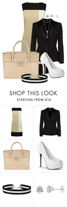 """Night Out"" by kweencupcake08 on Polyvore featuring M&Co, Alexander McQueen, Furla, Miss Selfridge and EF Collection"