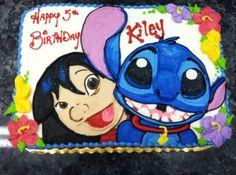 Lilo and Stitch cake | stitch