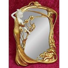 Art Nouveau Mirror (Maker Unknown)