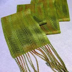 Chartreuse Scarf by Eweniquely Ewe
