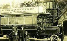 Liverpool, history, liverpool-history-l23-crosby-bus-nags-head-pub-thornton-1907