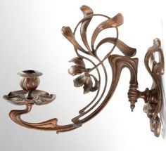 Art Nouveau wall sconce