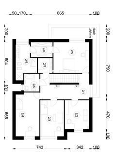 DOM.PL™ - Projekt domu NA A-94 CE - DOM NA1-52 - gotowy koszt budowy My Dream Home, Floor Plans, Dream Houses, My Dream House, Dream Homes, Dream Mansion