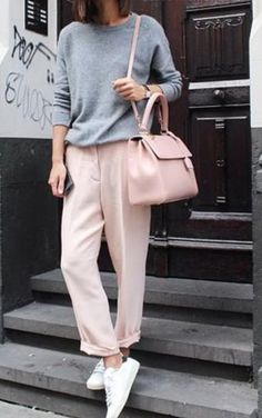 Pink + Grey
