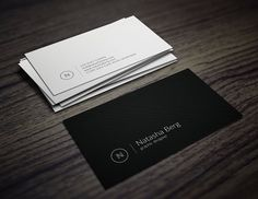 Minimal Business Card Vol. 03 by Jorge Lima on @creativemarket