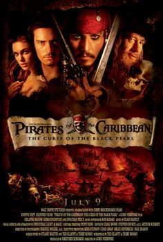 PIRATES OF THE CARIBBEAN  Ⅰ    THE CURSE OF THE BLAC KPEARL