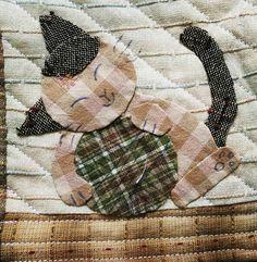 """29 Likes, 1 Comments - Bimbi Kusuma (@bimbikusuma) on Instagram: """"Cat no 6 😸 . . . #alhamdulillah  #bismillah  #semangat  #sewing  #menjahit  #wip  #letsquilt…"""""""