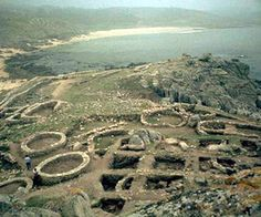 Celtic settlement. Castro de Barrona Galicia, #Spain
