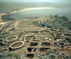 Celtic settlement. Castro de Barrona Galicia, #Spain