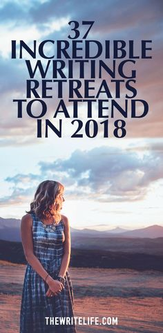 Attend one of these writing retreats for 2018!