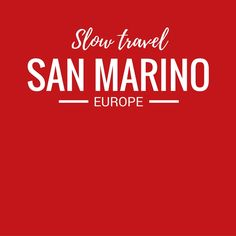 Although we are based in Belgium, we love to travel. Exploring Europe is one of the highlights of living here. We've not yet been to San Marino, but you can bet, it's on our travel wish list!