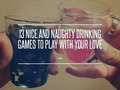 2. Russian Roulette - 13 Nice and Naughty Drinking Games to Play with Your Love ... → Love