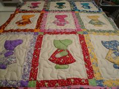 Would love to do a Sunbonnet Sue quilt!
