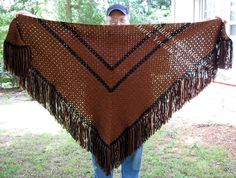 Ideal Delusions: So Simple Box Stitch Shawl - Free Pattern