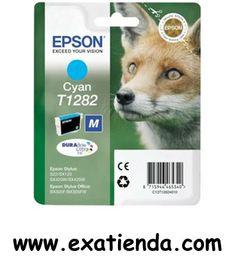 Ya disponible Cartucho Epson c13t1282 cian   (por sólo 16.99 € IVA incluído):   -Compatible con: C13T1282 -Epson Stylus S22. -Epson Stylus SX125. -Epson Stylus SX420W. -Epson Stylus SX425W. -Epson Stylus Office BX305F. -Epson Stylus Office BX305FW.  -Color: Cian Garantía de fabricante  http://www.exabyteinformatica.com/tienda/1986-cartucho-epson-c13t1282-cian #epson #exabyteinformatica