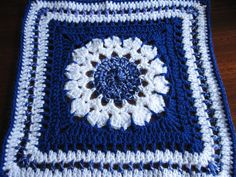 Ravelry: Project Gallery for Flower Burst Square pattern by Chris Simon