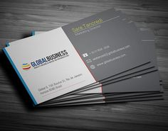 Simple Corporate Business Card #businesscards #businesscardsdesign