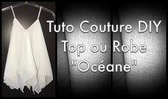 Bonjour, 2 Carrés et hop un top ou une robe! Voici la robe Océane réalisée en mousseline froisée dispo sur www.e-mercerie.com. Pour un joli rendu il faut utiliser un tissu fin et aérien. Regardez attentivement la vidéo et découvrez les dimensions pour...