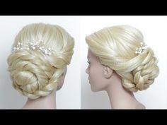 Prom Wedding Updo Tutorial For Long Hair - YouTube