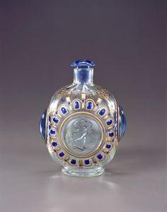 Emile Gallé Perfume Bottle, 1884