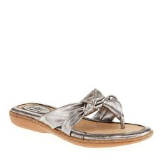 b.o.c. Women's Sequin Pewter Metallic Sandal 11 M -- Find out more about the great product at the image link. #sandals