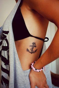 Small Rib Butterfly Tattoos for Girls - Tattoo Designs, Piercing ...