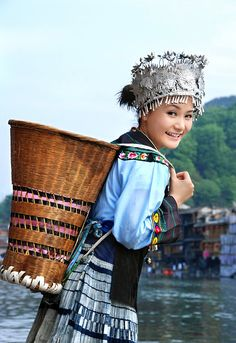 Hmong Girl from China  #world #cultures