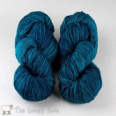 ...hyperventilating...  Baltic in Tosh Vintage from Madelinetosh at The Loopy Ewe ($19.50)