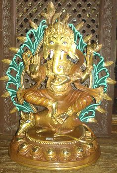 Himalayan Arts Ganesha is widely revered as the remover of obstacles,[7] the patron of arts and sciences and the deva of intellect and wisdom.[8] As the god of beginnings, he is honoured at the start of rituals and ceremonies. Find Nepalese Art and Handicrafts at NepalB2B.com