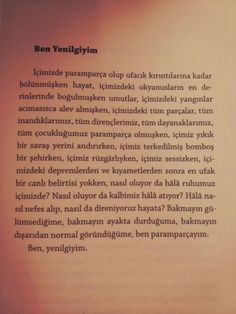 Ve her bir parçamı ayrı yere bıraktım. Poetry Quotes, Book Quotes, Sad Life, Instagram Story Ideas, Powerful Words, Meaningful Quotes, Cute Quotes, Cool Words, Make A Wish