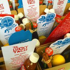 Lucky Taco Karma Cola Brandmance!!