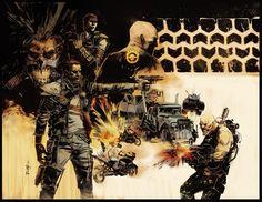 Gerardo Zaffino - Mad Max- Fury Road